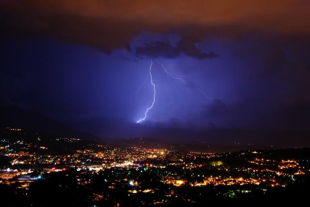 orages du mois de juillet en savoie 562npd