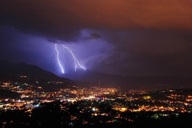 orages du mois de juillet en savoie S2lnon