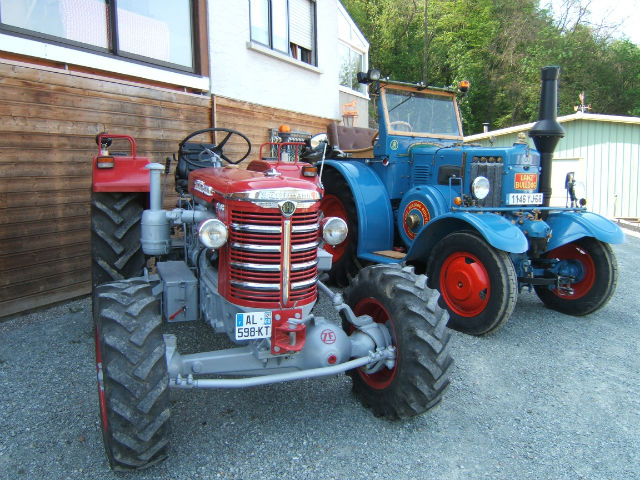 Tracteur HURLIMANN 0u20df