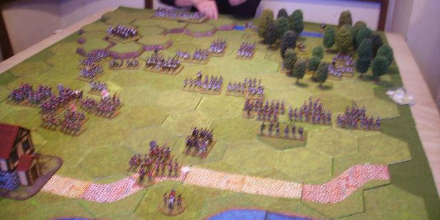 bataille de Vimeiro 1808 avec la règle Tactique 4qo9zy