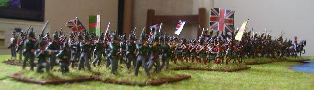 bataille de Vimeiro 1808 avec la règle Tactique Ahwdxw