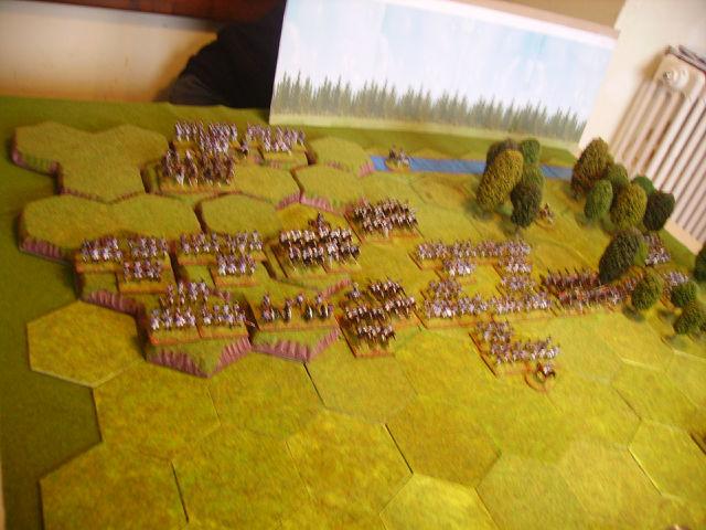 bataille de Vimeiro 1808 avec la règle Tactique Ihub51