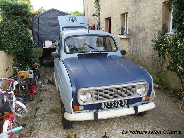 Peugeot Chateaurenard : en ni me voiture une renault 4l clan de1988 ~ Gottalentnigeria.com Avis de Voitures