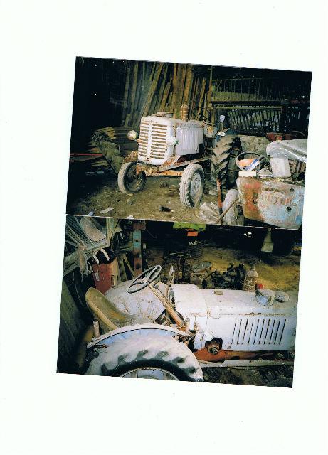 le petit tracteur qui me reste  974jmb