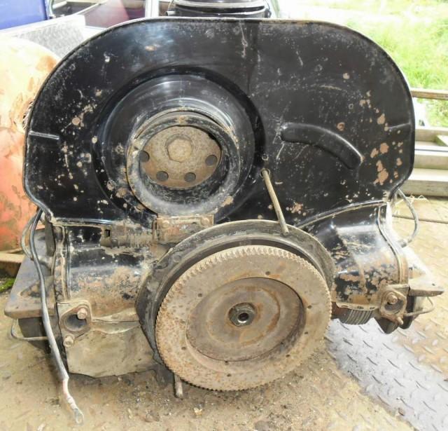 moteur pied moulé de 1965 pas bloqué 8p1zu4