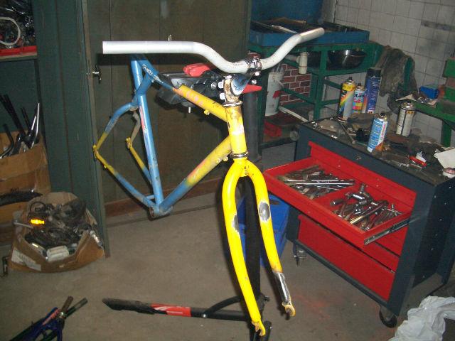 Ancien VTT mais futur vélotaf Ddcnpa