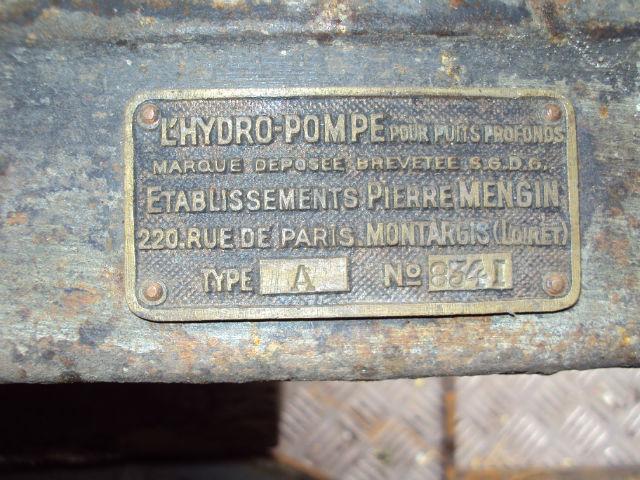 Pompe Pierre Mengin  Pfktl6