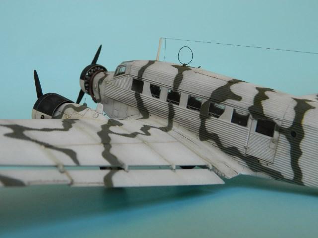 Junkers Ju-52. Italeri 1/72. Obeho6